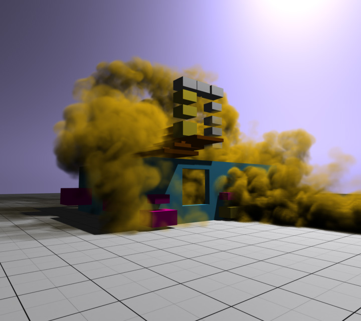 Screenshot from the demo