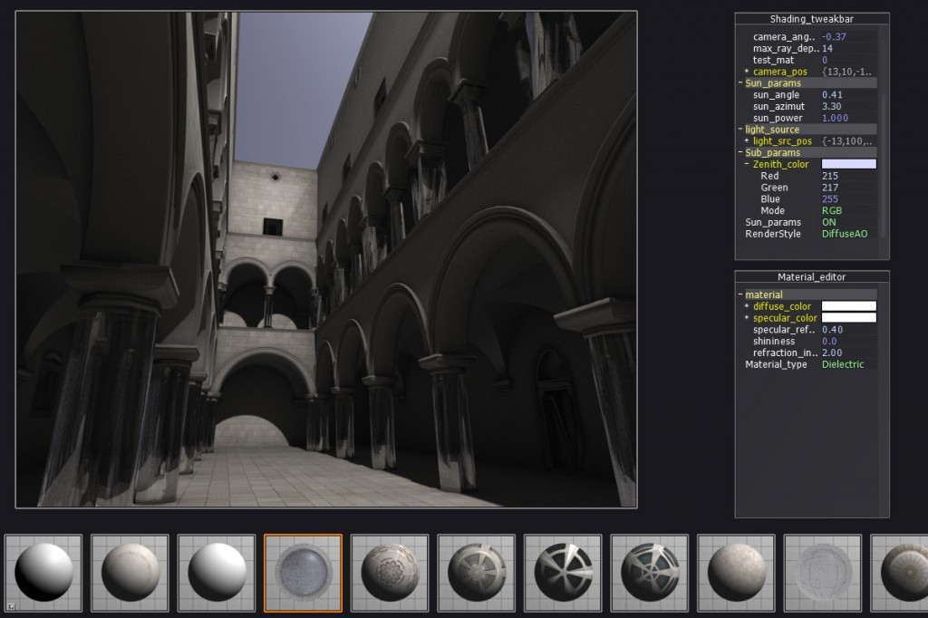 No ray tracing post without Sponza!